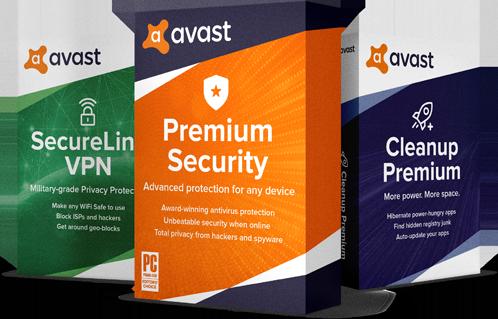 Avast Premium Security для Windows 1 ПК, 2 роки