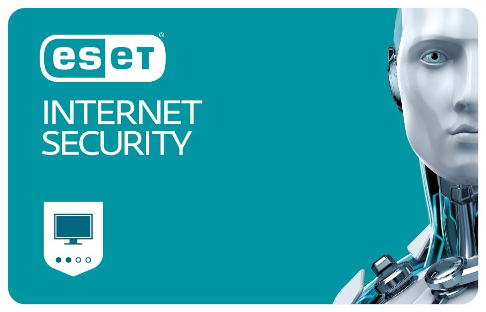 ESET Internet Security, продление лицензии, на 12 месяцев, на 2 ПК