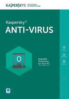 Kaspersky Anti-Virus, базова ліцензія, на 1 рік, на 3 ПК