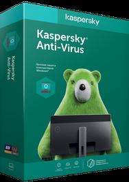 Kaspersky Anti-Virus Eastern Europe Edition, базова ліцензія, на 1 рік, на 3 ПК