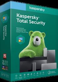 Kaspersky Total Security Eastern Europe Edition, базова ліцензія, на 1 рік, на 2 ПК