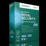 Kaspersky Total Security для всіх пристроїв, подовження  лицензія, на 1 рік, на 3 ПК
