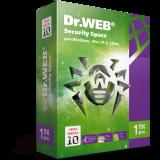 Dr. Web Security Space, цифровая лицензия, на 12 месяцев, на 1 ПК