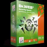 Dr. Web Security Space, цифровая лицензия, на 24 месяца, на 3 ПК