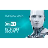 ESET Internet Security, базовая лицензия, на 12 месяцев, на 4 ПК