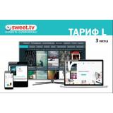 SWEET.TV ПАКЕТ L ПЕРІОД НА 3 МІС