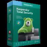 Kaspersky Total Security для всіх пристроїв, подовження  лицензія, на 1 рік, на 4 ПК