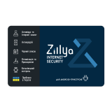 Zillya! Internet Security for Android, базовая лицензия, на 12 месяцев, на 1 устройство